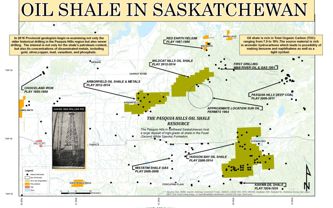 "Steve Halabura: Is this Saskatchewan's next billion barrel oilfield? A peek at Saskatchewan's ""Northeast Oilpatch"""
